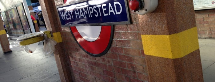 West Hampstead London Underground Station is one of Tube Challenge.