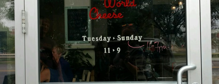 New World Cheese is one of Denver Cheesecation.