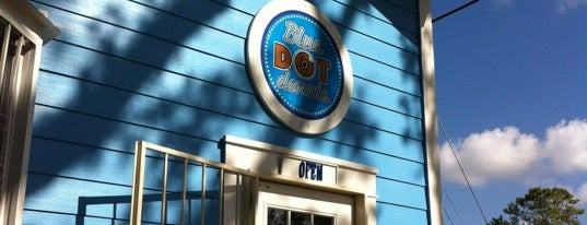 Blue Dot Donuts is one of What we love about New Orleans.