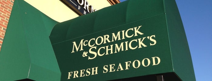 McCormick & Schmicks Seafood Restaurant is one of Restaurants.