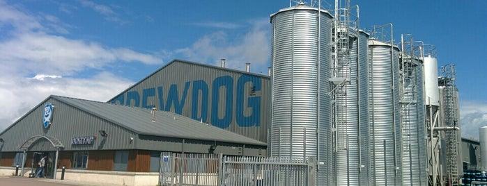 BrewDog Brewery is one of Beer / RateBeer's Top 100 Brewers [2015].