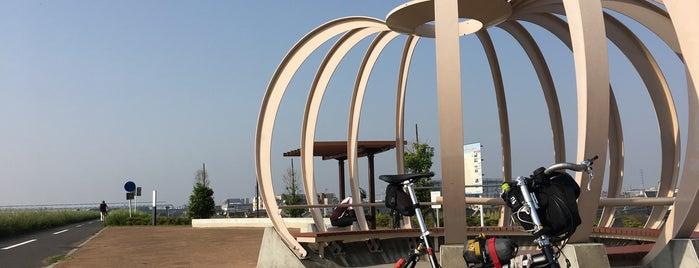 みさとの風ひろば is one of サイクリング.