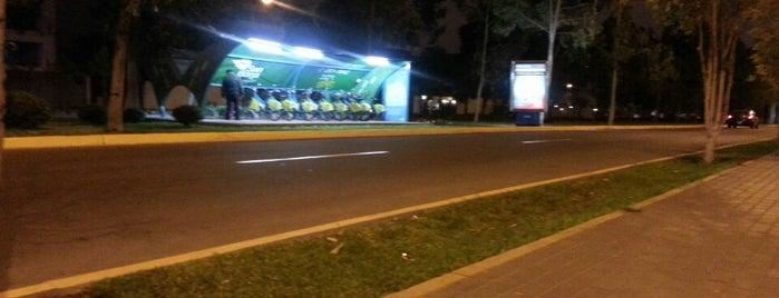 Estacion Bicicletas Pentagonito is one of bicletas: reparación y venta en Lima.