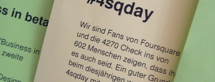 betahaus Hamburg is one of Foursquare Day 2013.