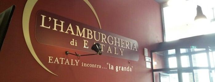 Hamburgeria di Eataly is one of Bergamo.