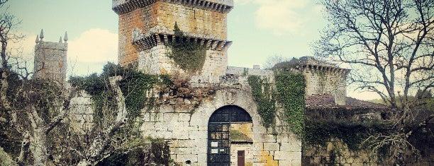 Castelo de Pambre is one of Galicia: Lugo.