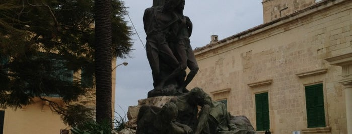Independence Square is one of Malta Cultural Spots.