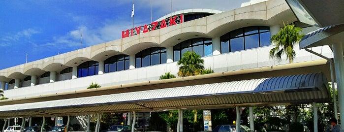 Miyazaki Bougainvillea Airport (KMI) is one of 降り立った空港.
