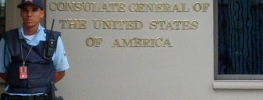 Consulado Geral dos Estados Unidos da América is one of Placês to kill backered.