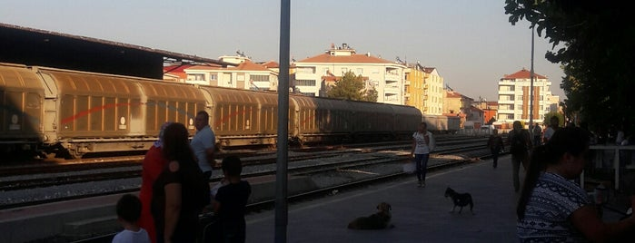 Alaşehir Tren İstasyonu is one of themaraton.