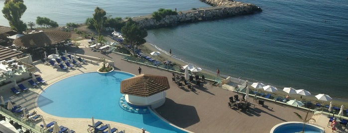 Apollonia Beach Hotel is one of Отдохнуть в 2013.