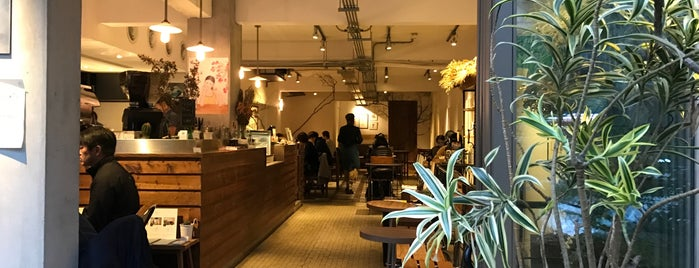 Fujin Tree 353 Cafe by Simple Kaffa is one of Coffee shops in Taipei.