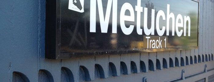 NJT - Metuchen Station (NEC) is one of New Jersey Transit Train Stations I Have Been To.
