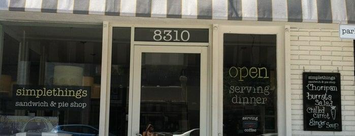 Simplethings Sandwich & Pie Shop is one of Good LA Food.