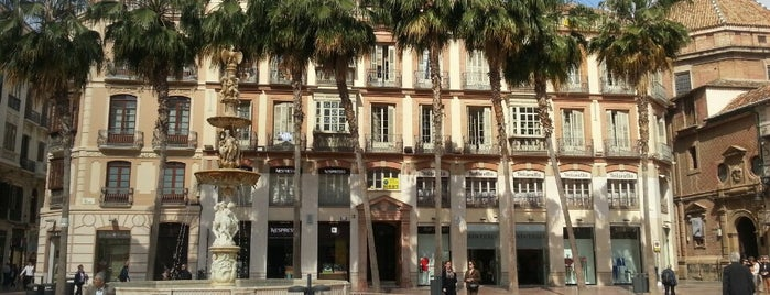 Plaza de la Constitución is one of 🔰MALAGA.