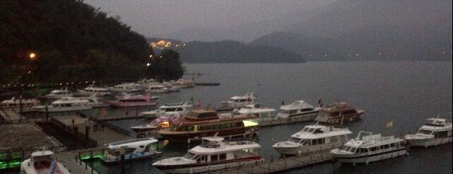 水社碼頭 Shuishe Pier is one of Taiwan.