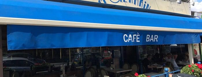 Café St Germain is one of Crystal palace & Sydenham.