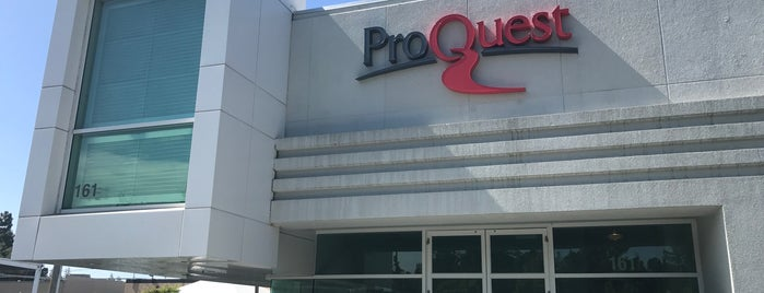 ProQuest is one of San Francisco - May 2017.