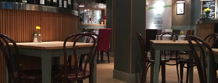 The French Café is one of Relaxed London Food.