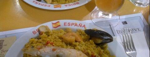 Brisa de España is one of restaurants to try.