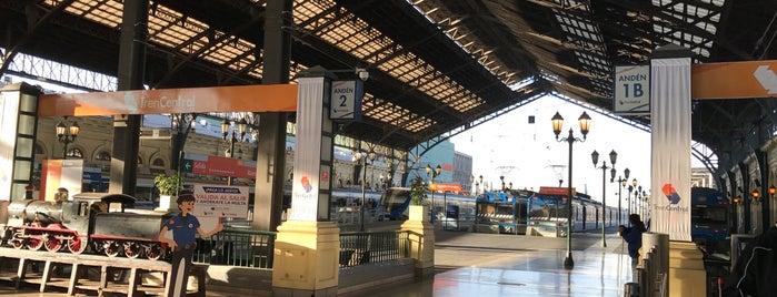 Estacion Central de Santiago is one of Para visitar en Santiago.