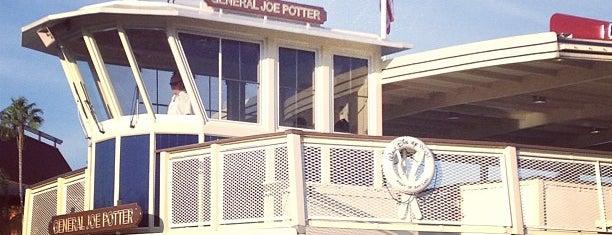 General Joe Potter Ferryboat is one of Walt Disney World.