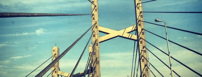 6th October Bridge is one of فى الطريق ...