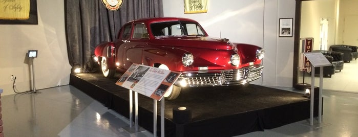 The Antique Automobile Club of America Museum is one of Pennsylvania's Automotive History.