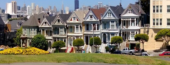 Painted Ladies is one of San Francisco - May 2017.