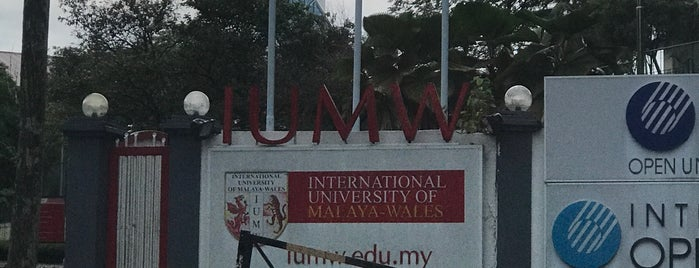 International University of Malaya-Wales is one of Learning Centers,MY #5.