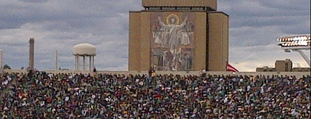 Notre Dame Stadium is one of Try.