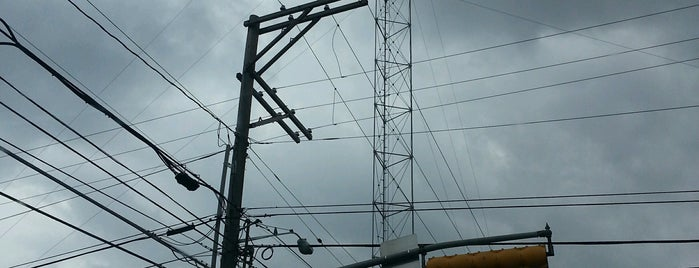 Moonlight Tower (MLK & Chicon) is one of Austin's Moonlight Towers.