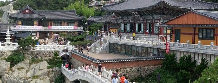 Haedong Yonggungsa Temple is one of Пусан.