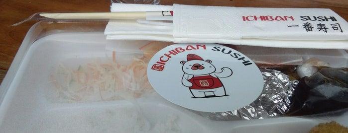 Ichiban Sushi is one of Bento Badge.