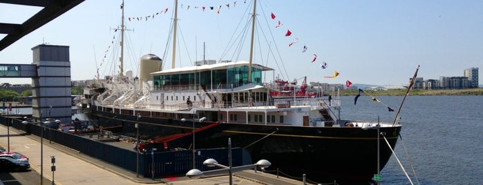 The Royal Yacht Britannia is one of Edinburgh.