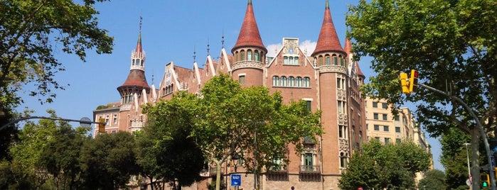 Casa Terrades (Casa de les Punxes) is one of Barcelona : Museums & Art Galleries.