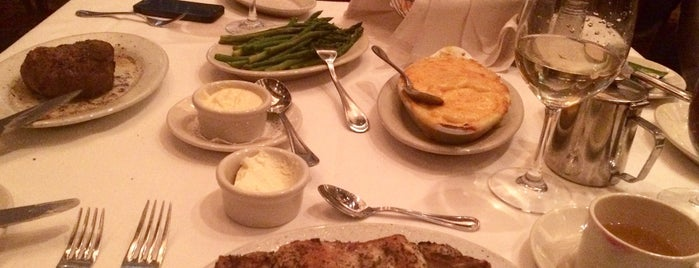 Ruth's Chris Steak House is one of Top 10 restaurants when money is no object.