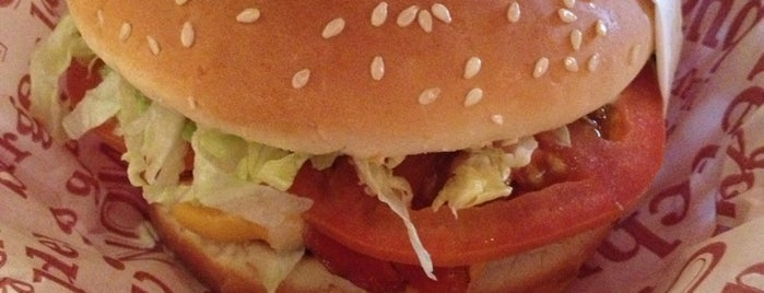 Red Robin Gourmet Burgers is one of Eateries.