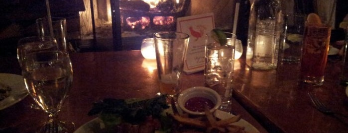 The Fireplace is one of Bars in Boston With Fireplaces.