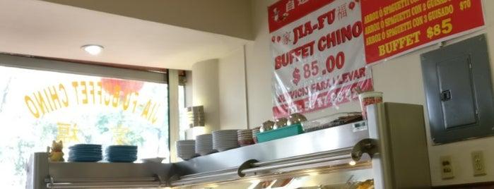 Jai-Fu Buffet Chino is one of Comida japonesa y más.