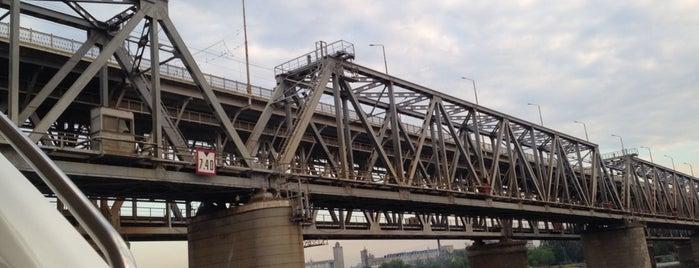 Амурский мост is one of Днепропетровск.