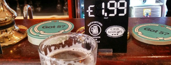 The John Jacques (Wetherspoon) is one of Top 10 favorites places in Portsmouth.