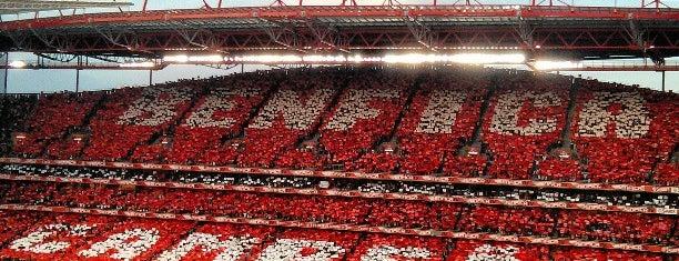 Estádio do Sport Lisboa e Benfica is one of A Corrigir 2.