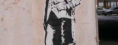 Benjamin Franklin (Mural, series :11 Americans Who Have Overcome Adversity) is one of Public Art in Philadelphia (Volume 1).