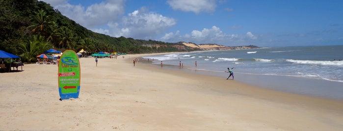 Praia do Madeiro is one of Praias RN.