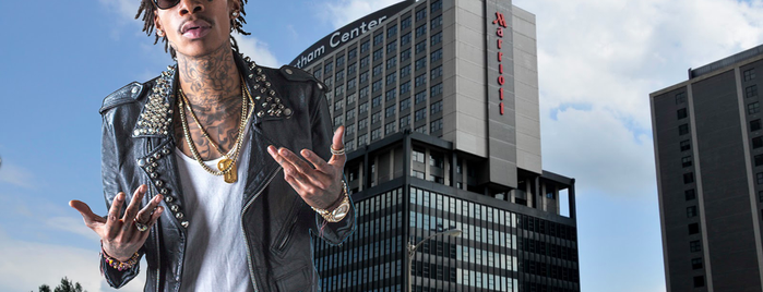 Pittsburgh Marriott City Center is one of Hip Hop Hospitality: The Many Hotels of Rap Lyrics.