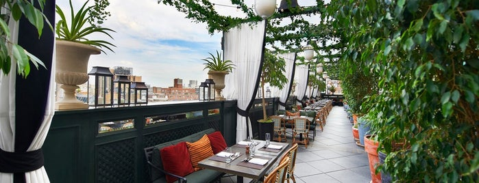 Gramercy Terrace is one of The Best Hotel Rooftops in NYC.