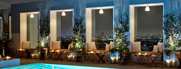 Skybar is one of The Best Hotel Bars in Los Angeles.