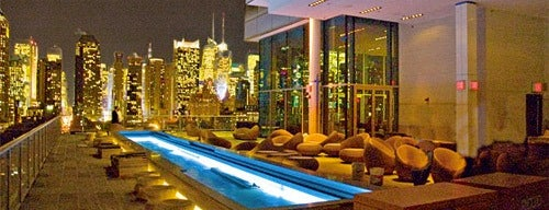 Ink48 Hotel Roof Bar is one of The Best Hotel Rooftops in NYC.