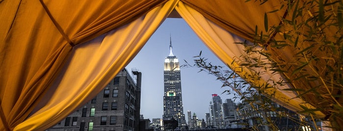 The NoMad Restaurant is one of The Best Hotel Rooftops in NYC.